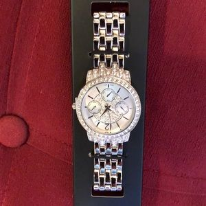 Bling pave watch with Crystals by Swarovski